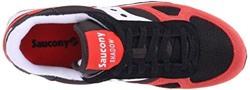 Saucony Shadow Original unisex adulto, pelle scamosciata, sneaker bassa Rosso