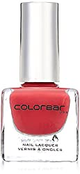 Colorbar CNL050 Luxe Nail Lacquer, Red, 12ml