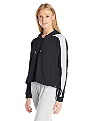 PUMA Womens Heart T7 Track Jacket, Puma Black, S