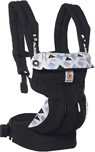 Ergobaby Babydraagzak 360 Sunrise Triple Triangles Ergobaby Made of 100 percent cotton and machine washable It has four comfortable and ergonomic ways to wear baby Provides maximum comfort for parents 5