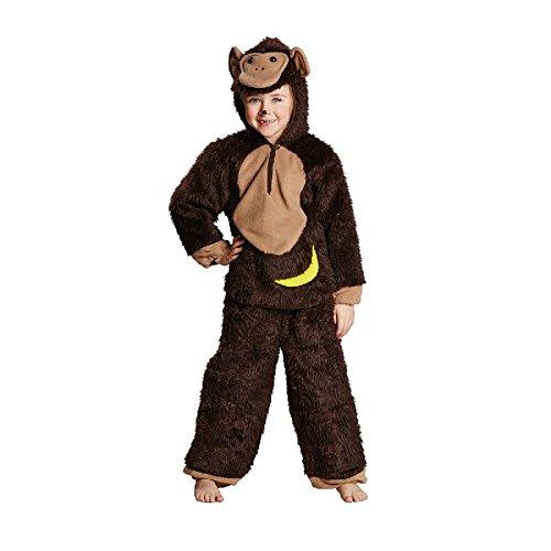 Rubie's Schimpanse Kinder Kostüm Affe Affenkostüm Karneval Fasching Gr.116