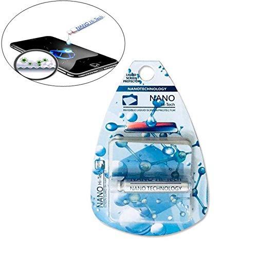 OOOUSE 9H-Flüssigkeitsschutzfolie, unsichtbar, Nano-Tech-Glas-Displayschutzfolie, High Definition, Kratzfest, Anti-Fingerabdrücke, für iPhone, Smartphone, Computer, Kamera, alle Bildschirme
