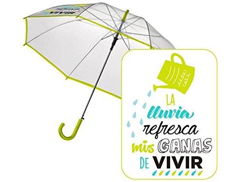 """Paraguas automatico transparente """"Refresaca"""" - venta en KOEKOE"""