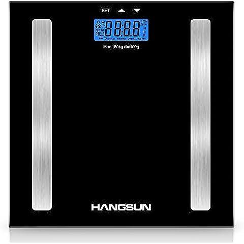 Hangsun Báscula de baño analizadora digital HS1 Báscula de análisis corporal electrónica por