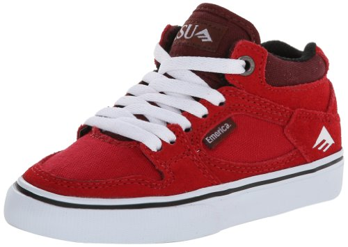 Kinder Skateschuh Emerica Hsu Skate Shoes Boys Red/White/Black