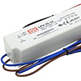 Mean Well LPV-35–1235W White Power Supply Unit–Power Supply UMTS (35W, 100–264, 5%, 47–63, 85%, White)