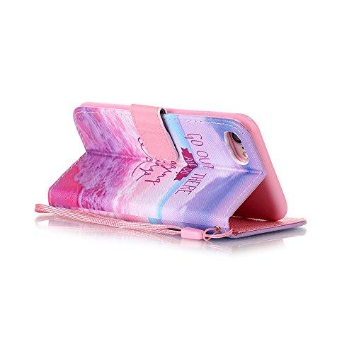 Apple【Eine Vielzahl von Mustern 】iPhone 6 plus Handyhülle Case für iPhone 6 plus Hülle im Bookstyle, PU Leder Flip Wallet Case Cover Schutzhülle für Apple iPhone 6 plus(5.5 Zoll) Schale Handyhülle Cov Farbe-19