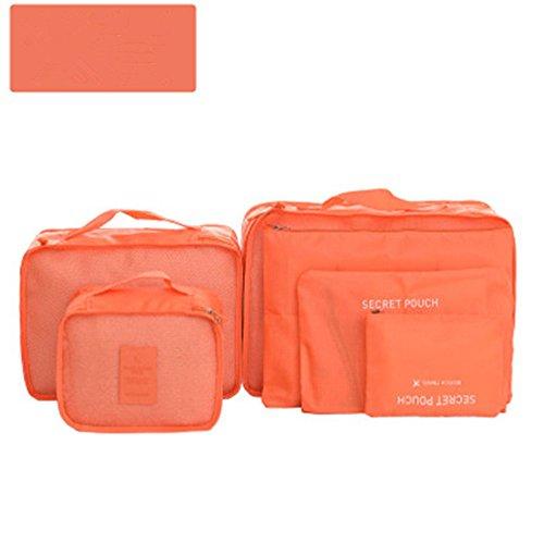CAOLATOR 6 piezas de viaje para equipaje, organizador, bolsas, set de