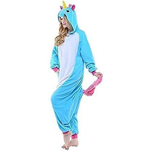 Kenmont Unicornio Animal Carnaval Navidad Traje Disfraz Cosplay Pijamas Adultos Unisex Ropa De Noche