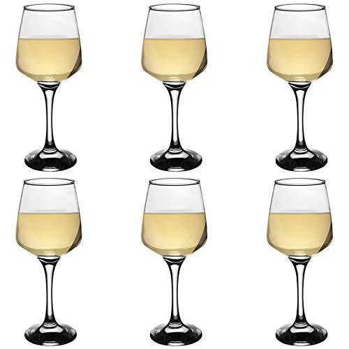 Tallo - Copas de vino blanco - En caja regalo - 295ml - Pack de 6Moderno set de 6 copas de vino blanco con un acabado liso y elegantes laterales inclinadosEste set viene en una elegante caja con un precioso diseño, de modo que será el regalo perfect...