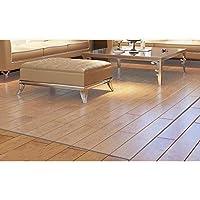 transparent wood floor protection mat plastic floor carpet computer chair mats protectors carpet rug@A01_80cmX160cm