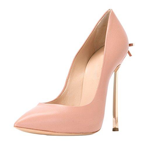 Pink Rutsch Zehen Stiletto Damen Spitze mit Heels Hochzeit High Pumps Schleife 8wxRBxv