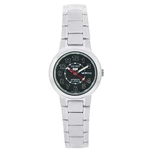 Seiko Damen-Armbanduhr XS Analog Automatik Edelstahl SYME51