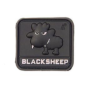 Rubber Patch Little Black Sheep Pvc Swat Black Airsoft