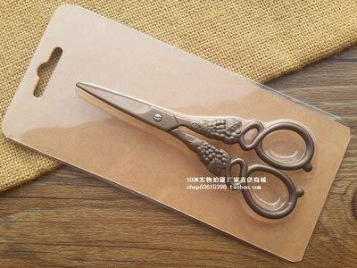 CUSHY 1 X 12.8cm Longitud Espiga de trigo Tijeras vendimia del estilo del bordado de coser Tijeras accesorios para el hogar: Bronce