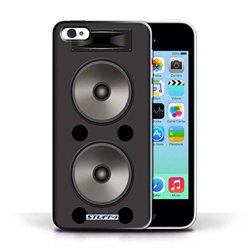 Kobalt® Imprimé Etui / Coque pour Apple iPhone 5C / Moniteur Studio conception / Série Haut-Parleur dessin Double