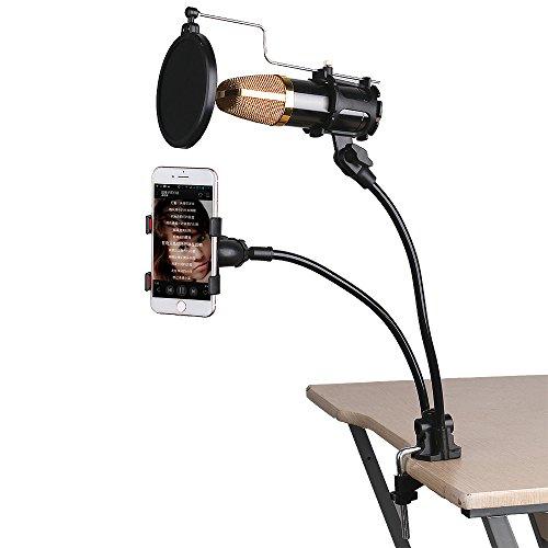 mikrofon-telefon-gooseneck-mount-halter-pop-filter-fur-die-aufzeichnung-von-studio-youtube