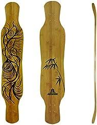 Koston Longboard Deck Dancing Gan River Dancer 46.0 x 9.0 inch LD021 incl. Clear Griptape
