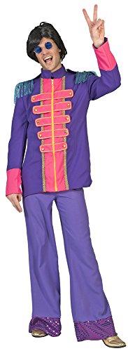Sergeant Pepper Beatles Jacke für Herren - Lila - Gr. 56 ()