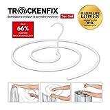 TROCKENFIX Wäschebügel | bekannt aus die Höhle der Löwen | Wäschetrockner - Wäscheständer | ideal zum Trocknen von Bettwäsche