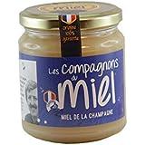 Les Compagnons du Miel - Miel de la Champagne - Pot verre 375g - Crémeux