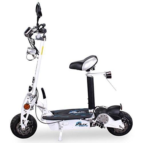 E-Scooter Roller Original E-Flux 20 mit Straßenzulassung und 500 Watt 36 V Motor Elektroroller E-Roller E-Scooter in vielen Farben (weiß)