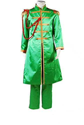 The Beatles Sgt. Pepper's Lonely Hearts Club Band John Lennon Cosplay Kostüm Herren (John Kostüm Lennon Pepper Sgt)