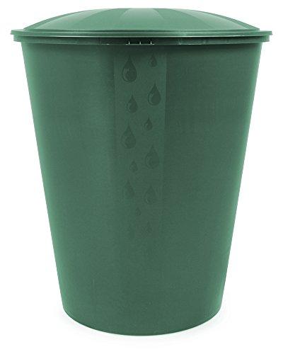 Wassertank Fass Aqua Regentonne mit Deckel Ecotank grün 310 Liter