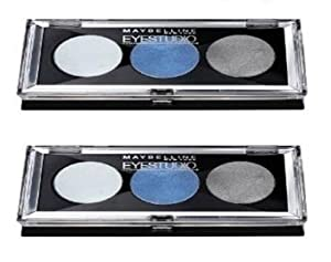 Maybelline Eyestudio Trio Cream Eyeshadow Set - #10 Blue Freeze by Maybelline [Beauty]