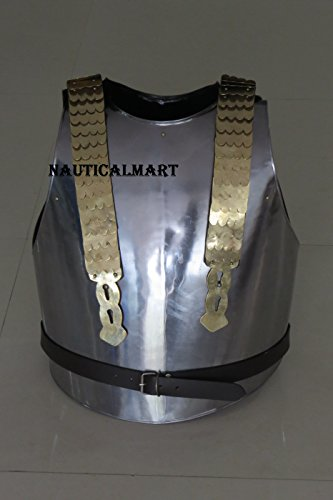 Mittelalter Ritter Stahl Armor Geschirr–Einheitsgröße von (Mann Kostüme Stahl Aus Erwachsenen)