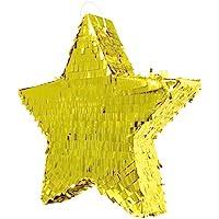Pignatta a forma di stella dorata - 45 cm