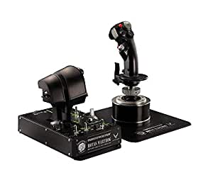 Thrustmaster - Hotas Warthog - Ensemble de Joystick HOTAS réplique de l'avion d'attaque A-10C de l'U.S. Air Force - PC
