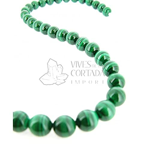 Fil Malachite Natural Boule 10 mm