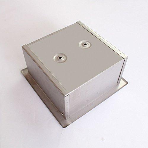 TY&WJ Versenkt Gewebe Toilettenpapierhalter Edelstahl Wandhalterung Seidenpapier Roll Dispenser Gewebe-halter Mirrow Fertig (Halter Versenkt)