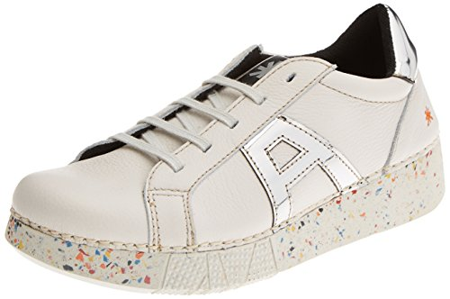 ART 1134 Memphis I Express, Ballerines Derby Mixte Adulte Blanc Cassé (Whiteplata)