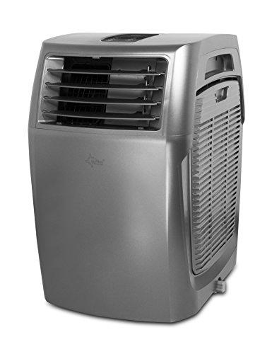 SUNTEC mobiles lokales Klimagerät Fusion CleanAir 14.000 Eco R290 [7 in 1: für Räume bis 180 m³ (~75 m²)*, Indoor/Outdoor Kühlen, Heizen, UVM. mit ökologischem Kühlmittel R290, 14.000 BTU/h, EEK A/A]