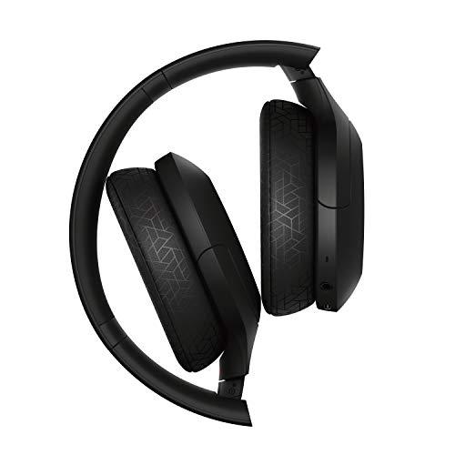 Sony WH-H910N kabellose High-Resolution Kopfhörer (Noise Cancelling, Bluetooth, Ambient Sound Modus, Quick Attention Modus, bis zu 40 Std. Akkulaufzeit) schwarz - 4