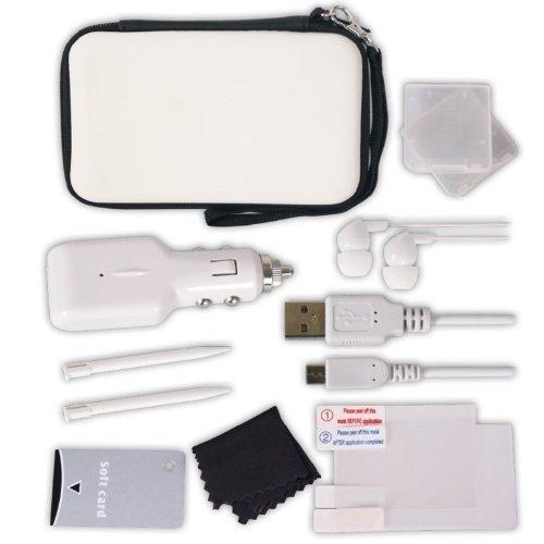 Nintendo DS Lite / DSi - 12 in 1 Reise Zubehör-Set weiss / white