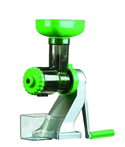 Tribest Z-710 Z Star Manual Juicer, Silver/Green