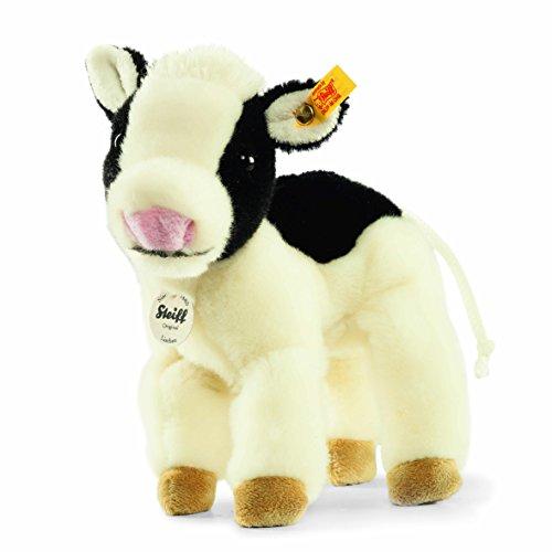 Steiff 103377 - Lischen Kuh 16 stehend, weiss/schwarz