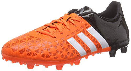 adidas Ace 15.3 FG/AG, Chaussures de Football Homme Multicolore (Orange / Black / White)