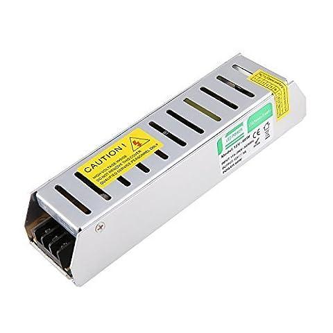 Liqoo® DC 12V 5A 60W Transformateur LED Trafo Driver Convertisseur Pour Ampoule MR16 MR11 et Ruban LED 12V
