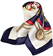 Silk scarves women's small square scarf with silk thin silk s