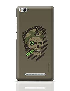 PosterGuy Militant Skull Quirky Illustration Xiaomi Mi 4i Cover