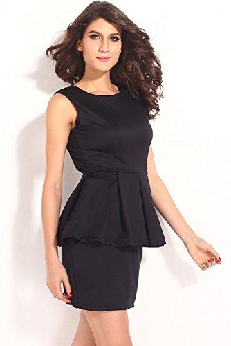 Dissa® femme Noir SY21109 robe de cocktail Noir