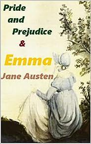 Jane Austen:Pride and Prejudice &Emma (English Edit