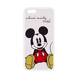 Coque IPhone 6S,Disney Mickey Mouse Minnie Design Coque Housse de Protection pour IPhone 6/6S(4.7 inch),Disney Mickey Mouse Minnie Series Coque arrière de protection pour IPhone 6S,Coque pour iPhone 6