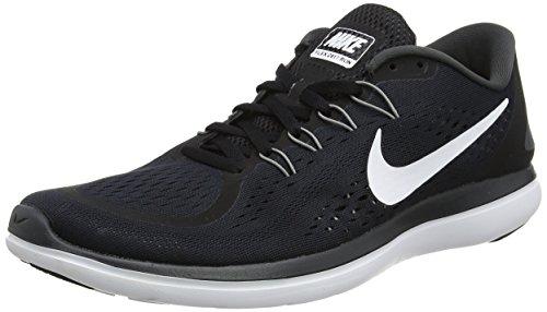 Nike Flex 2017 RN, Zapatillas de Running para Hombre, Negro (Black/White/Anthracite/Cool Grey), 43 EU