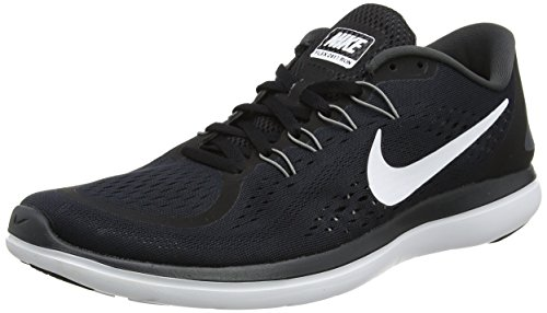 Nike Herren Flex 2017 RN RUN Laufschuhe, Mehrfarbig (Black/White-Anthracite-Cool Grey), 42 EU