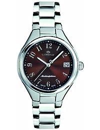 Lorenz 26696DD - Reloj analógico de Cuarzo para Mujer, Correa de Acero Color Plateado